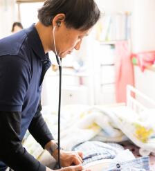 心から希望する在宅医療をトータルサポートします