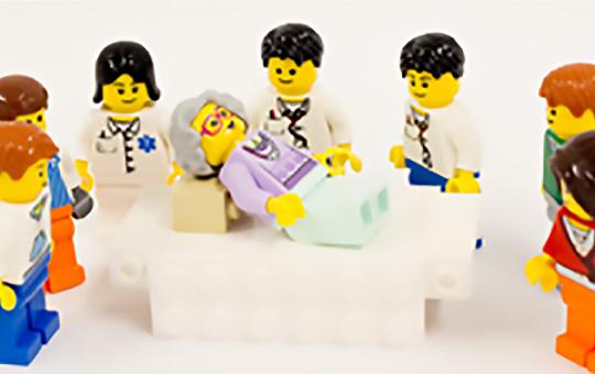 退院に向けての共同カンファレンス